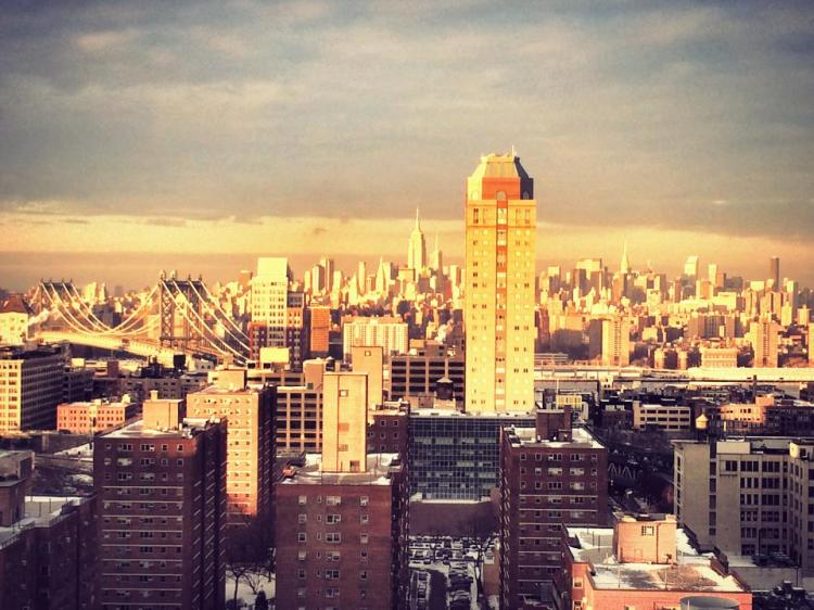 Viewing Manhattan from Brooklyn
